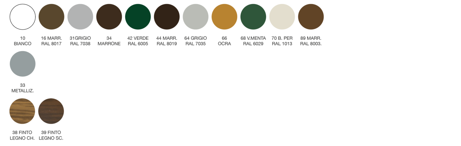 Tabella Colori AC-55